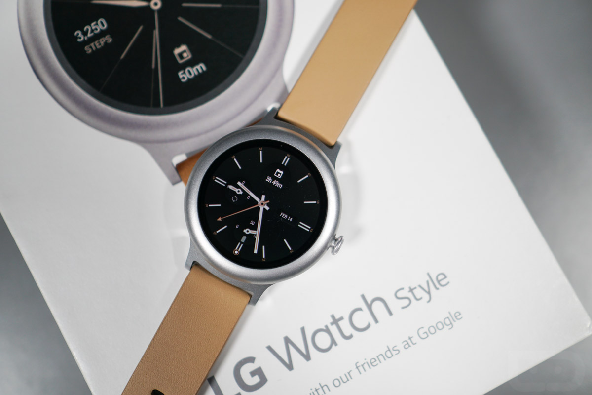 lg watch style unboxing