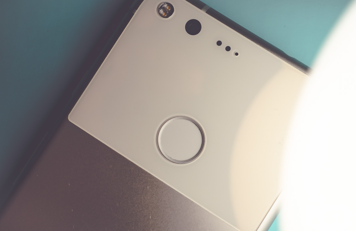 pixel fingerprint reader