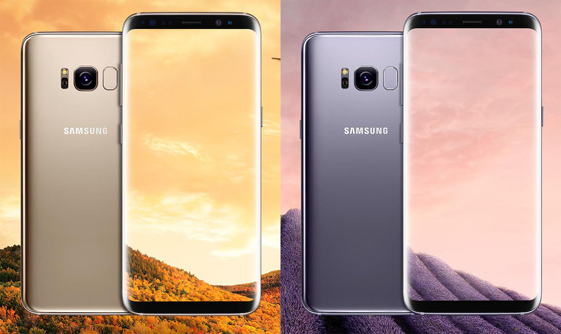 galaxy s8 colors