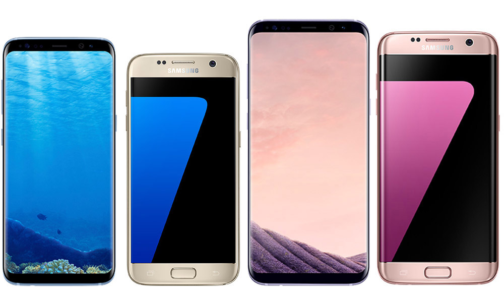 specs comparison galaxy s8 vs galaxy s7 galaxy s8 vs galaxy s7 edge droid life. Black Bedroom Furniture Sets. Home Design Ideas