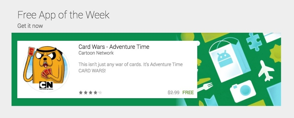 Google Play Now Hosting Free Of The Week Droid Life