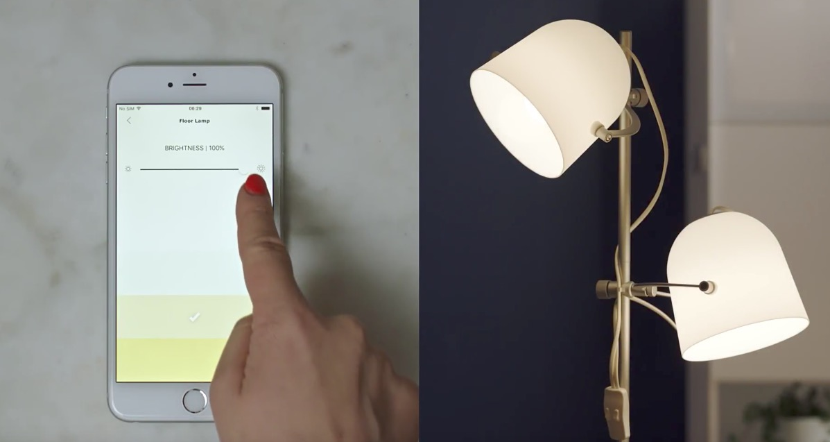 ikea introduces tr dfri smart lighting system bulbs as. Black Bedroom Furniture Sets. Home Design Ideas