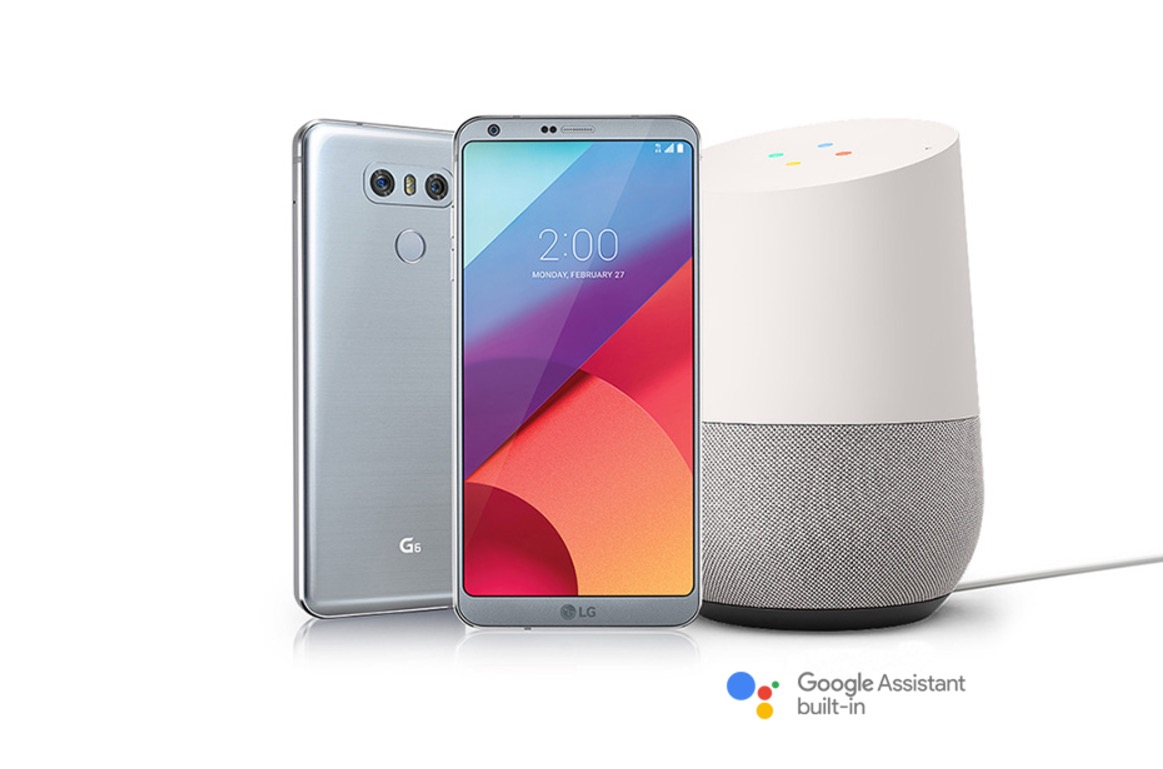 If You Buy an LG G6, You'll Get a Free Google Home