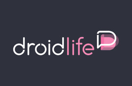 new droid life logo gray