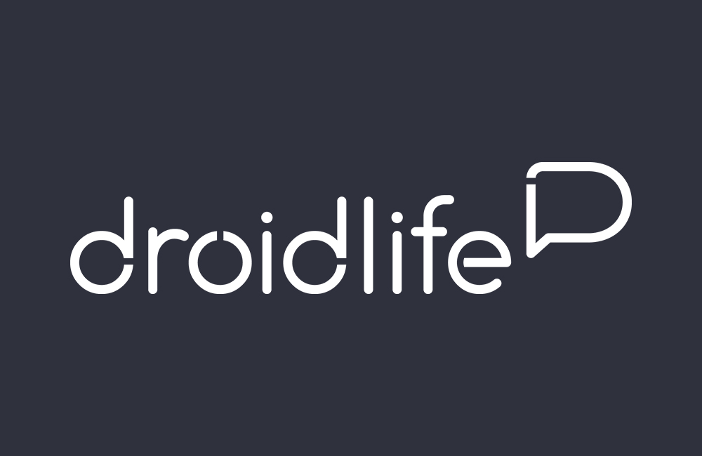 new droid life logo white