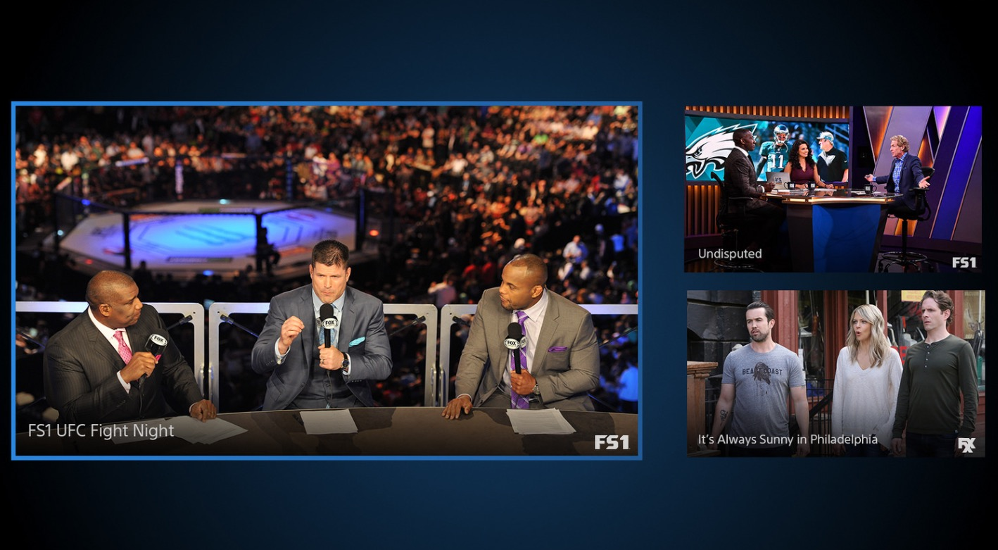 playstation vue multi view