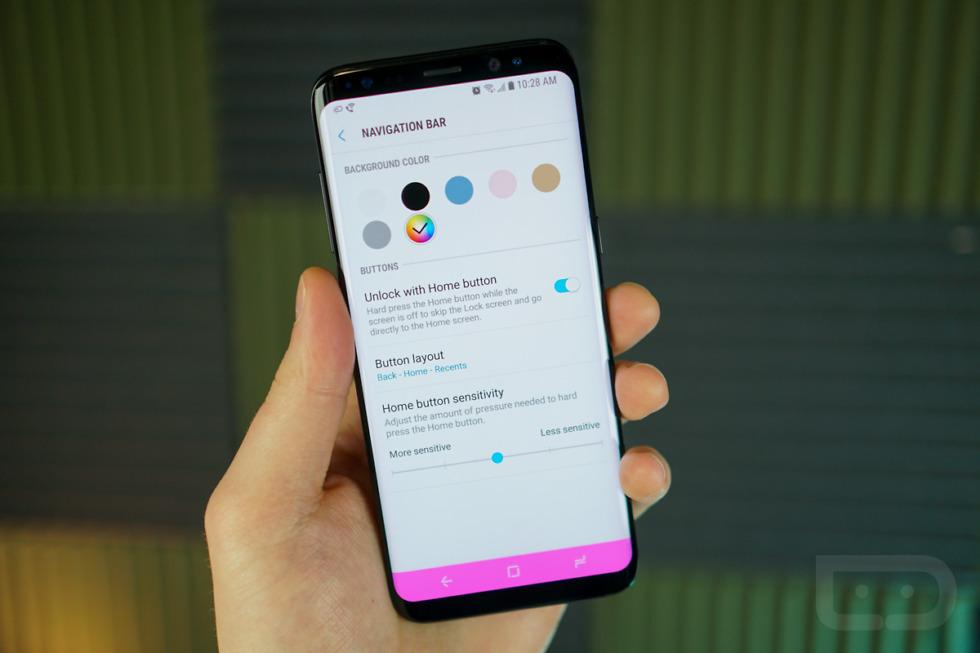 Galaxy S8 Guide: Customizing Navigation Bar – Droid Life