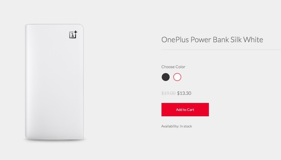 oneplus power bank deal