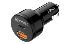 aukey car charger deal