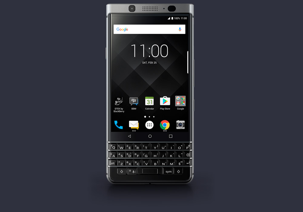 BlackBerry KeyOne Goes on Sale in the US