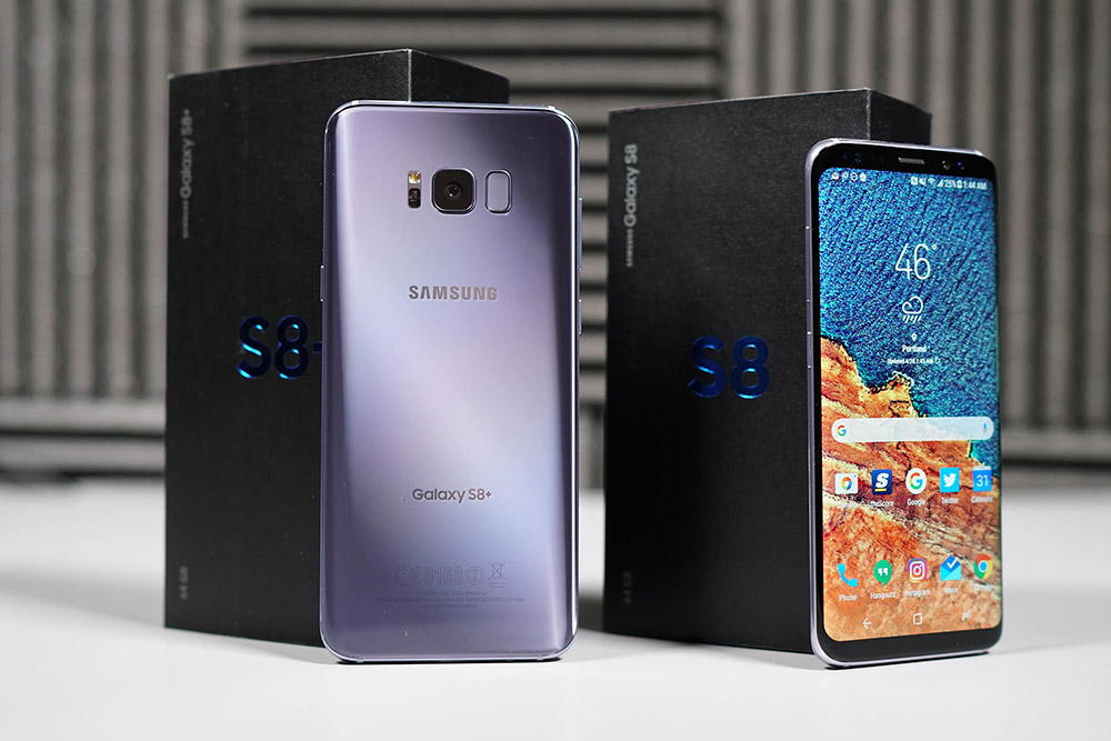 galaxy s8 unboxing