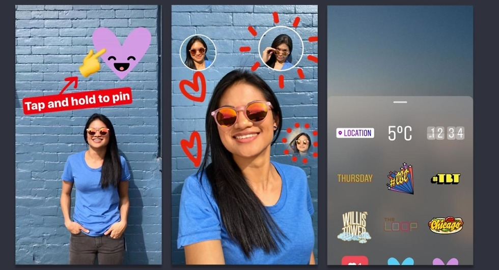 instagram stories stickers
