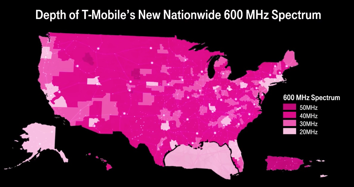 Mobile Will Begin Testing 600MHz Spectrum This Summer