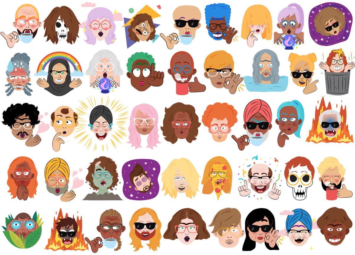 Google Allo can now turn your selfies into cartoon stickers