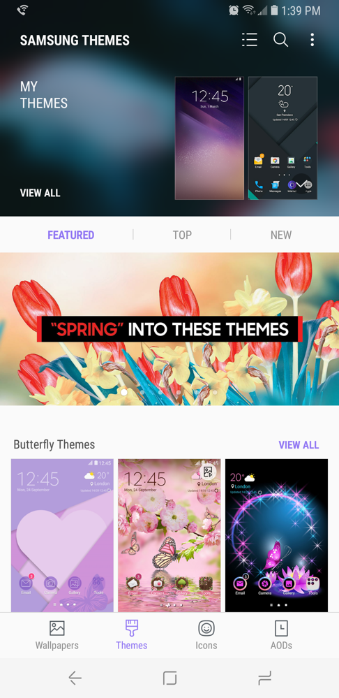Galaxy S8 Guide: Custom Icons, Themes and Always-On Display