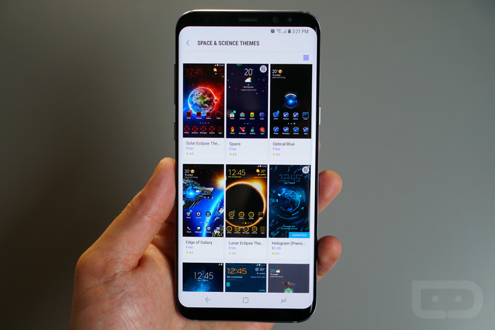 Galaxy S8 Guide Custom Icons Themes And Always On Display Droid Life