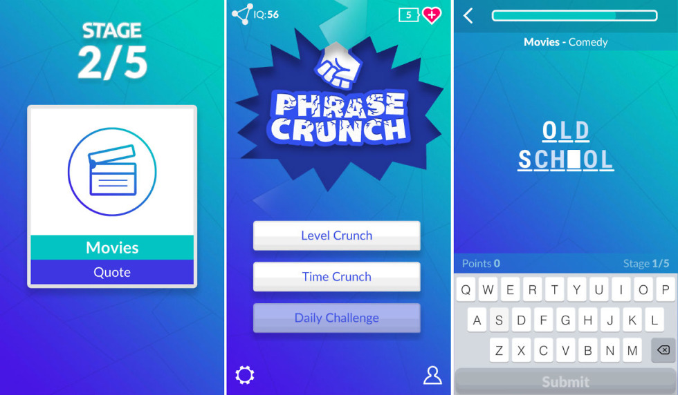 Phrase crunch puts a twist on hangman and is a great time killer theres nothing wrong with a classic game like hangman but i can appreciate a twist every now and then one title that has a good twist to the classic is solutioingenieria Image collections