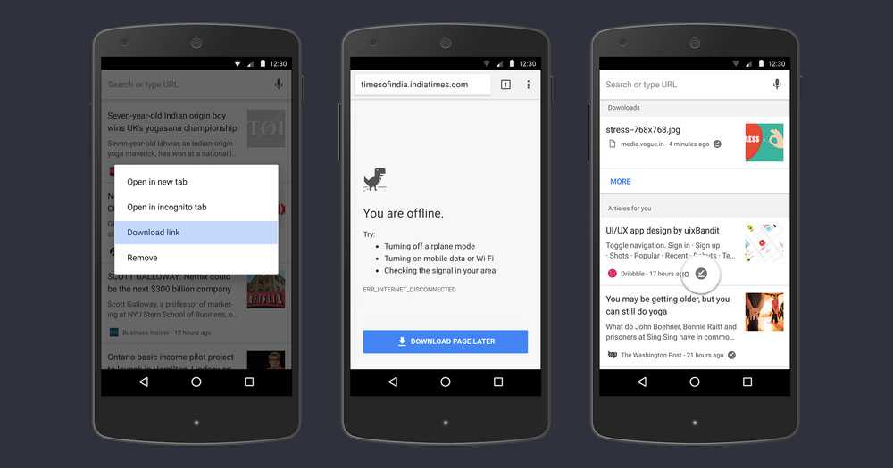 Google Chrome steps up its offline game on Android