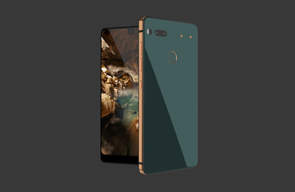 essential phone ugly green
