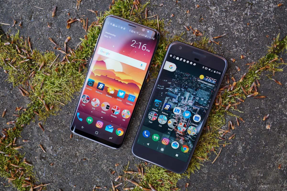 galaxy s8 vs pixel