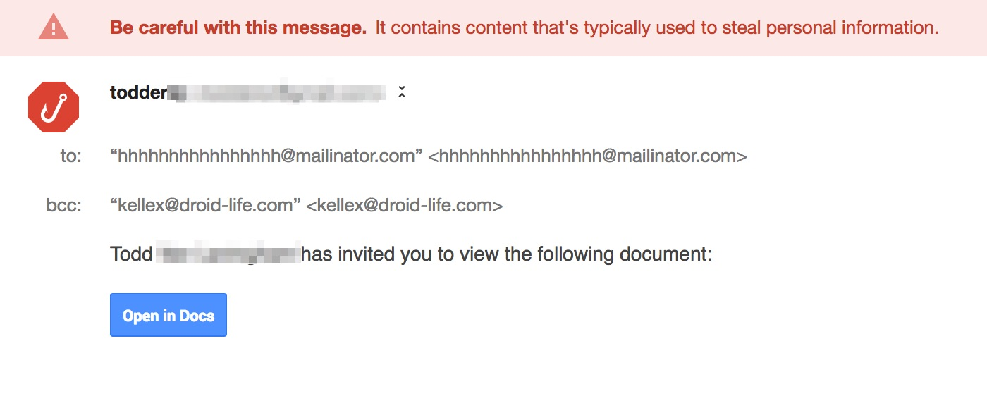 google docs phishing scam1