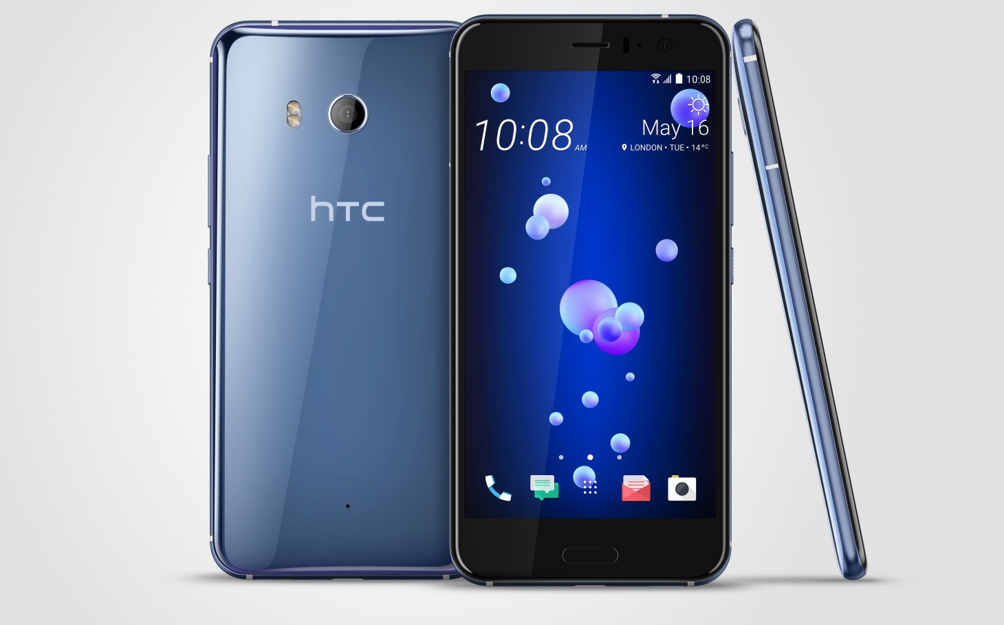 Htc U11 Is Official And Squeezable Coming To The Us In