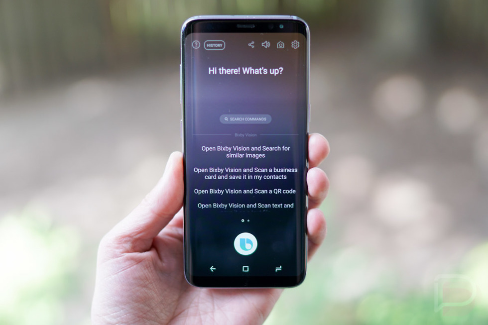 galaxy s8 bixby voice