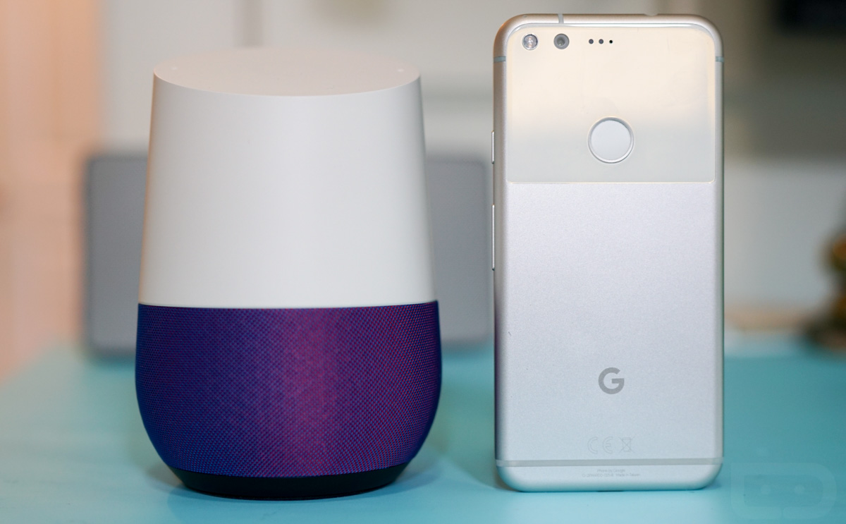 google pixel google home