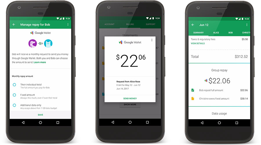 project fi group pay