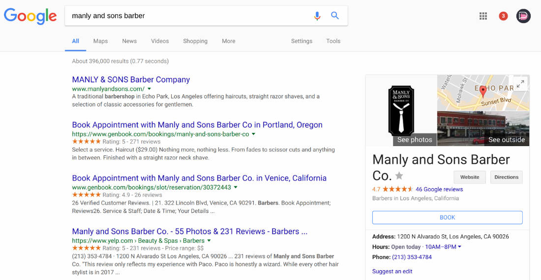 Google Adds Direct Spa and Salon Reservations to Search and Maps Results