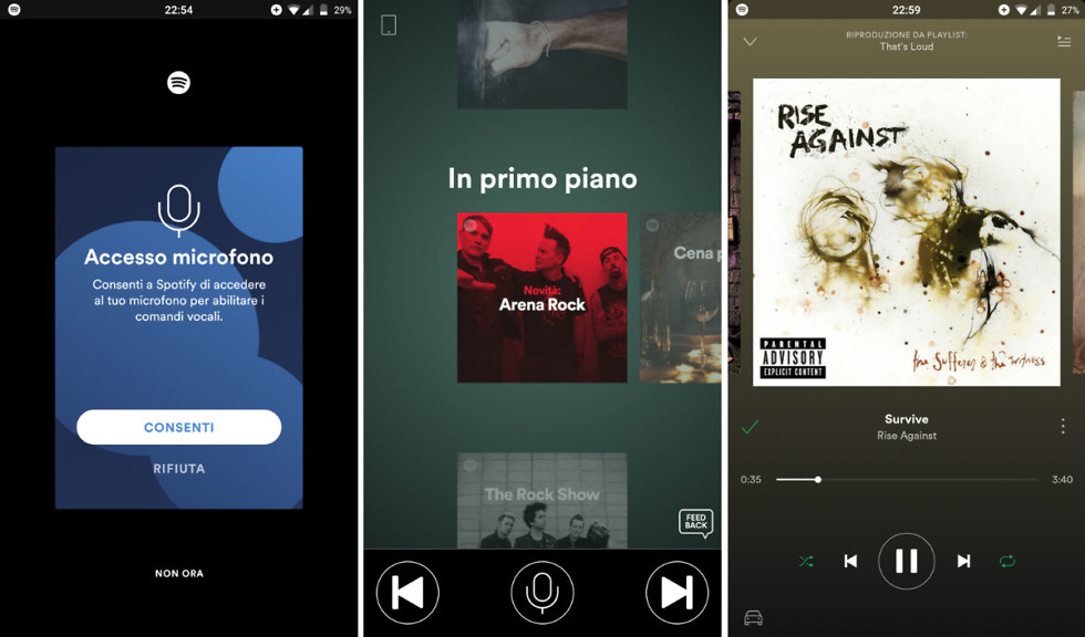 how to make lyrics appear on spotify
