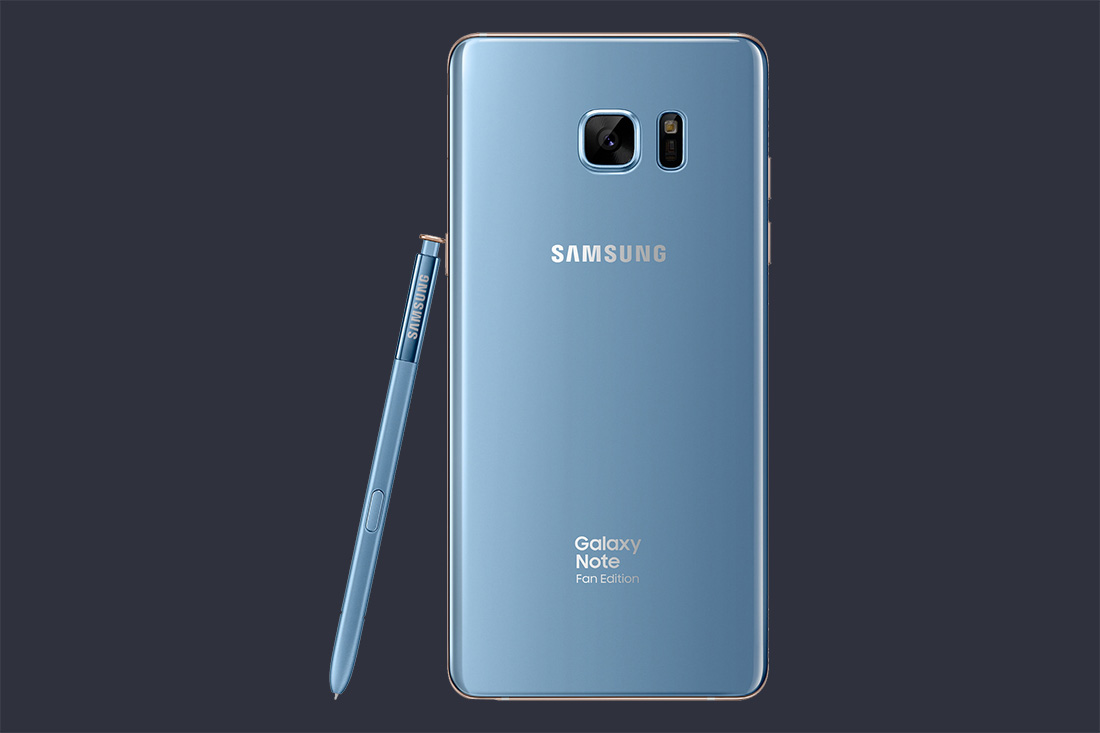 Galaxy Note 7 Fan Edition Is Official With Smaller