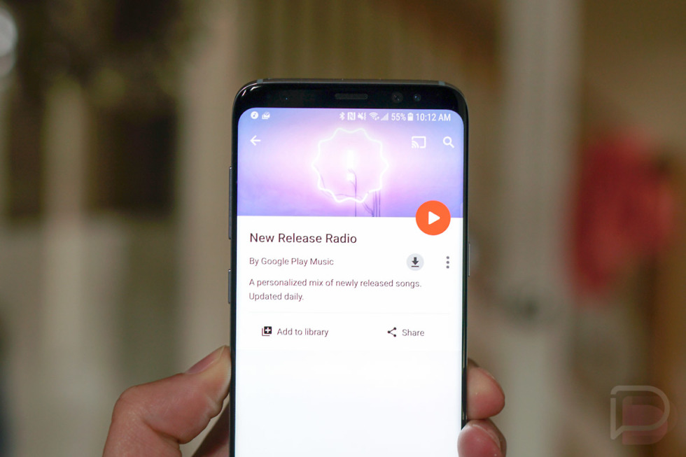google play music new release radio