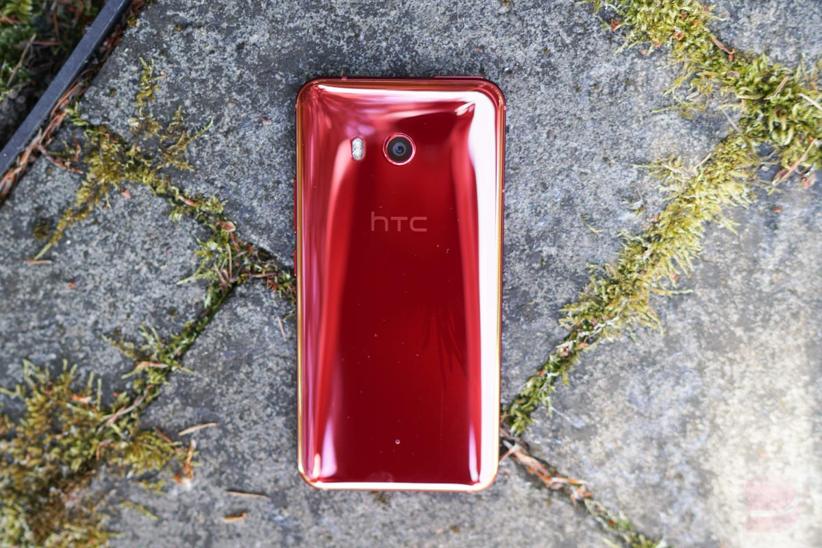 HTC U11 Solar Red Pict...