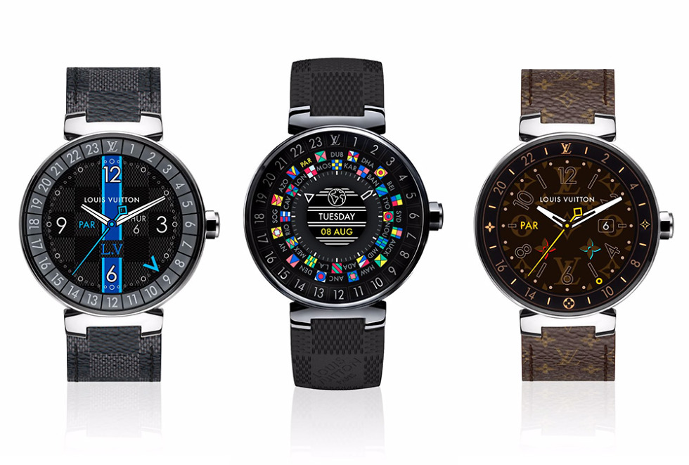 Louis Vuitton Tambour Horizon is Powered by Android Wear ...
