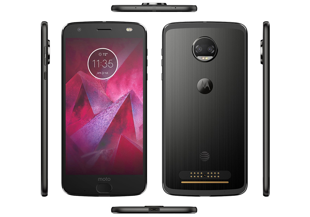 Here is the Moto Z2 Force for AT&T, Moto X4 Too