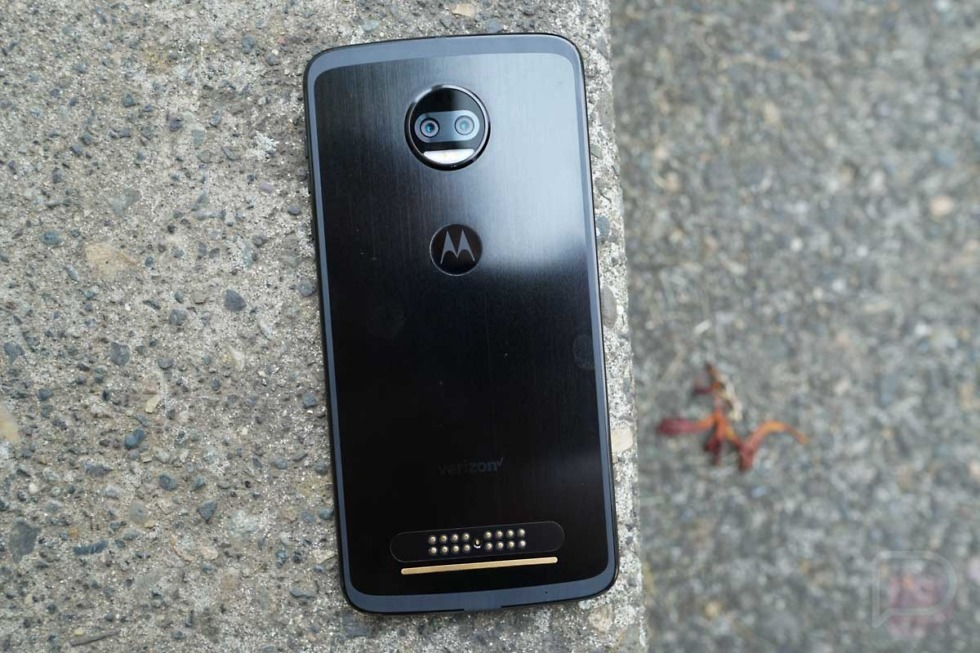 moto z2 force oreo update
