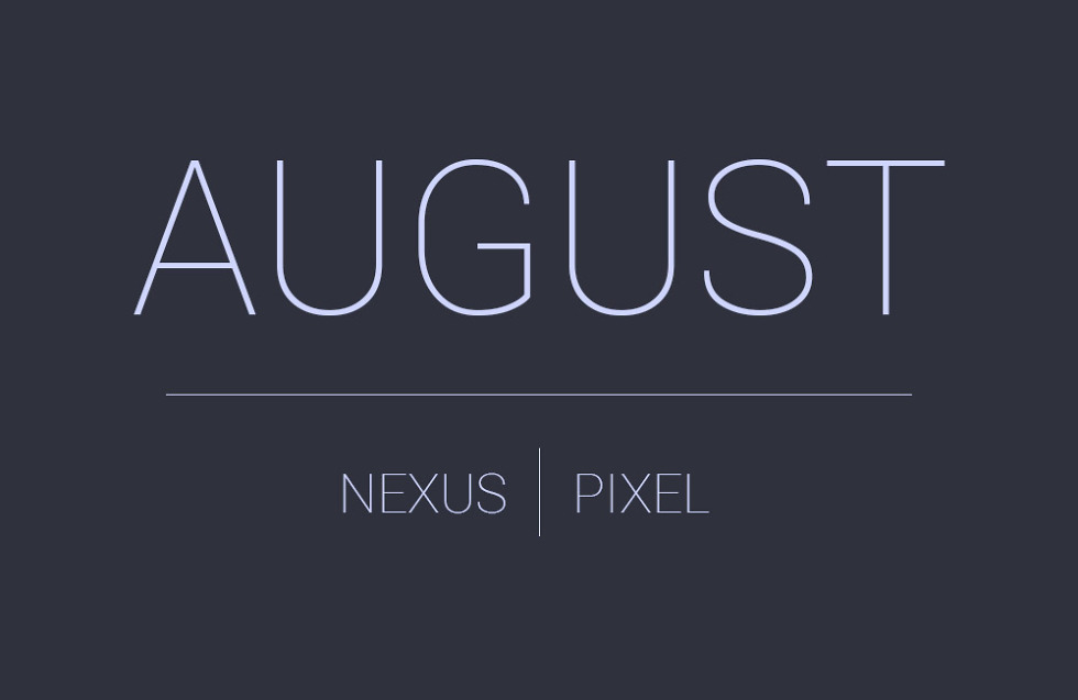 August Android Update