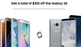 300 off best galaxy s8 deal