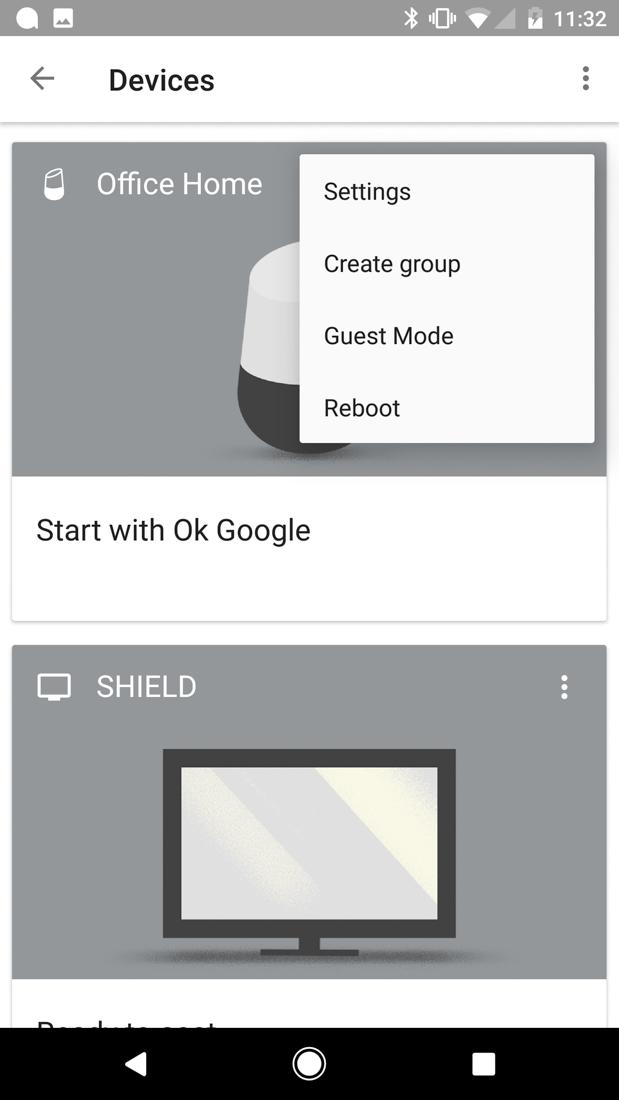Google Home Bluetooth Lautsprecher