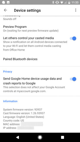 google home bluetooth pairing