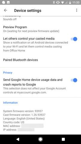 google home bluetooth pairing
