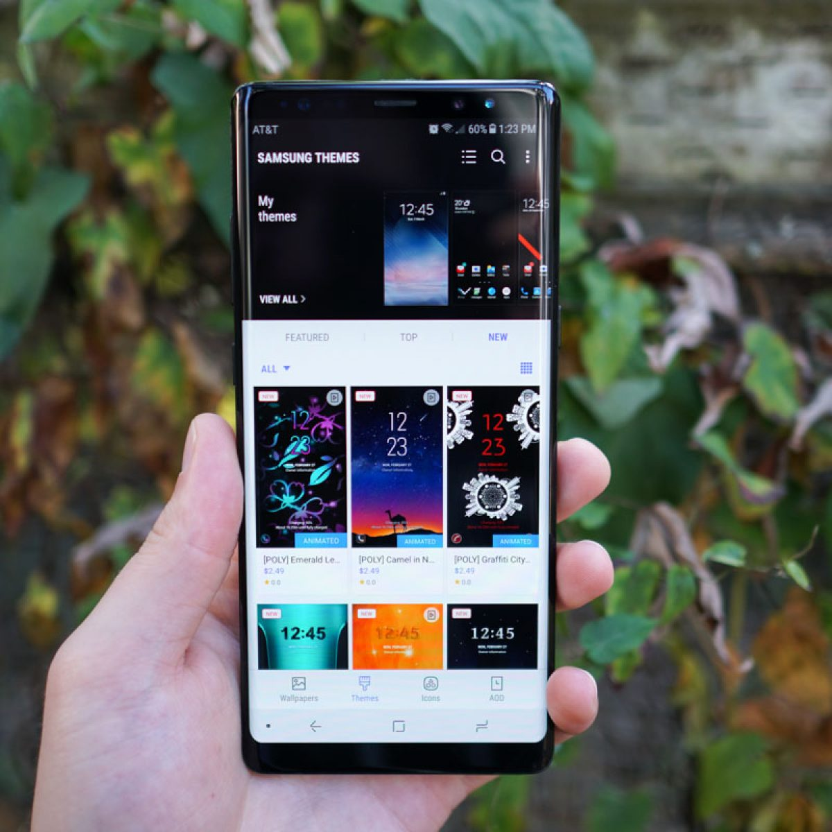 Galaxy Note 8 Themes 5 Favorites To Check Out And Download