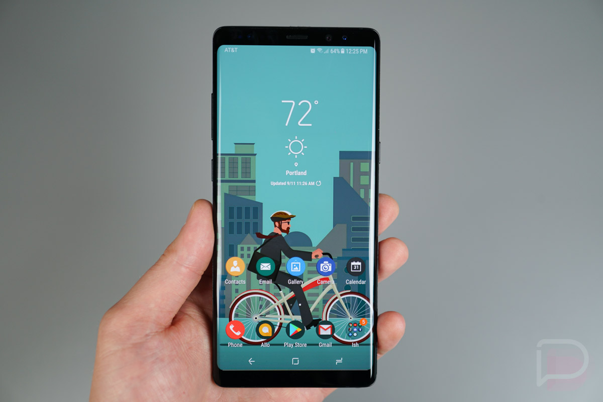 best galaxy note 8 themes