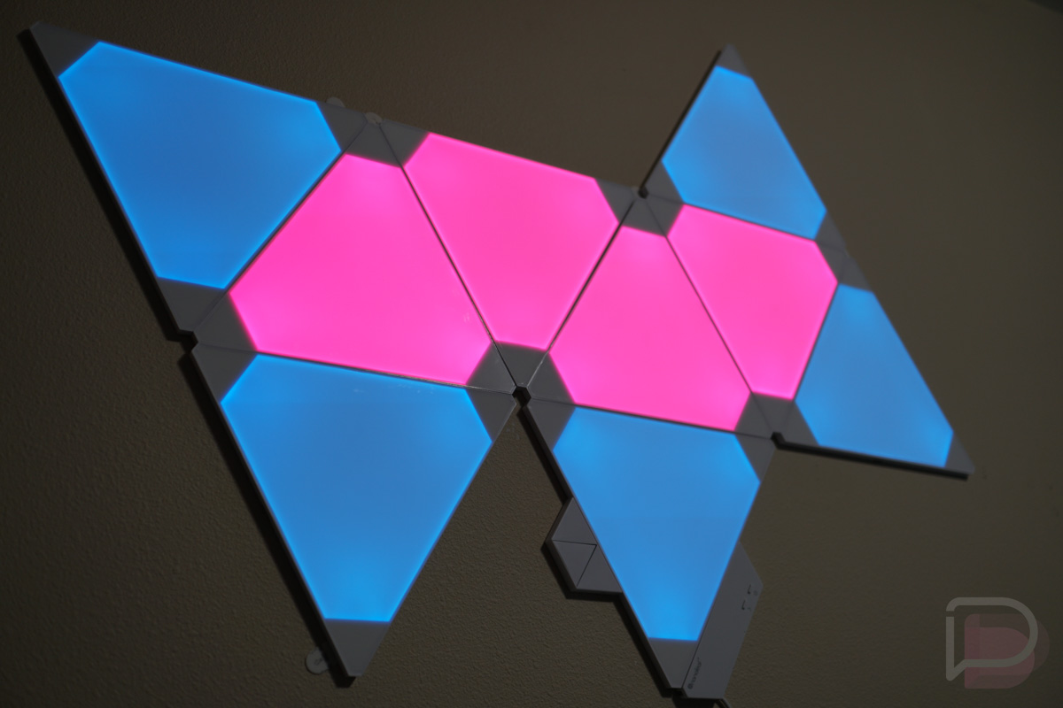 Google Voice Commands >> Nanoleaf Aurora is a Dope Lighting System, Works With Alexa and Google Assistant – Droid Life