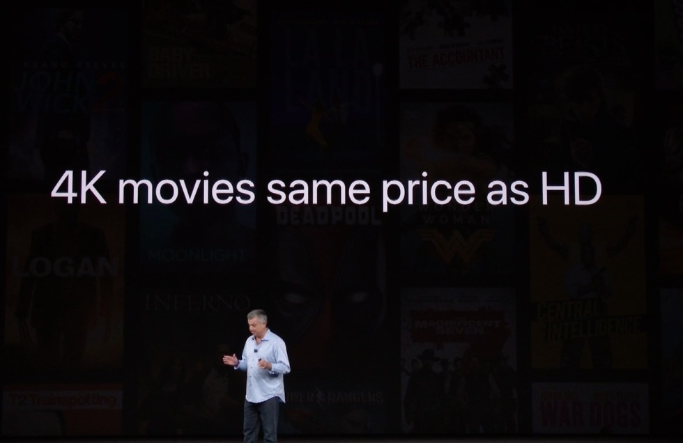 apple tv 4k movie price