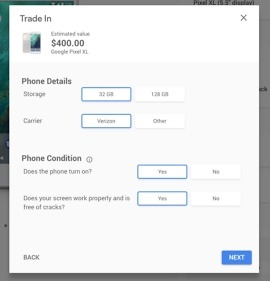 google pixel xl trade-in value