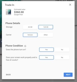 google pixel trade-in value