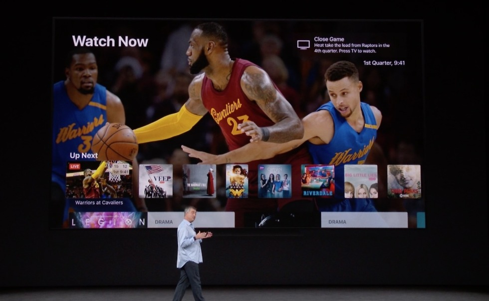 apple tv 4k sports