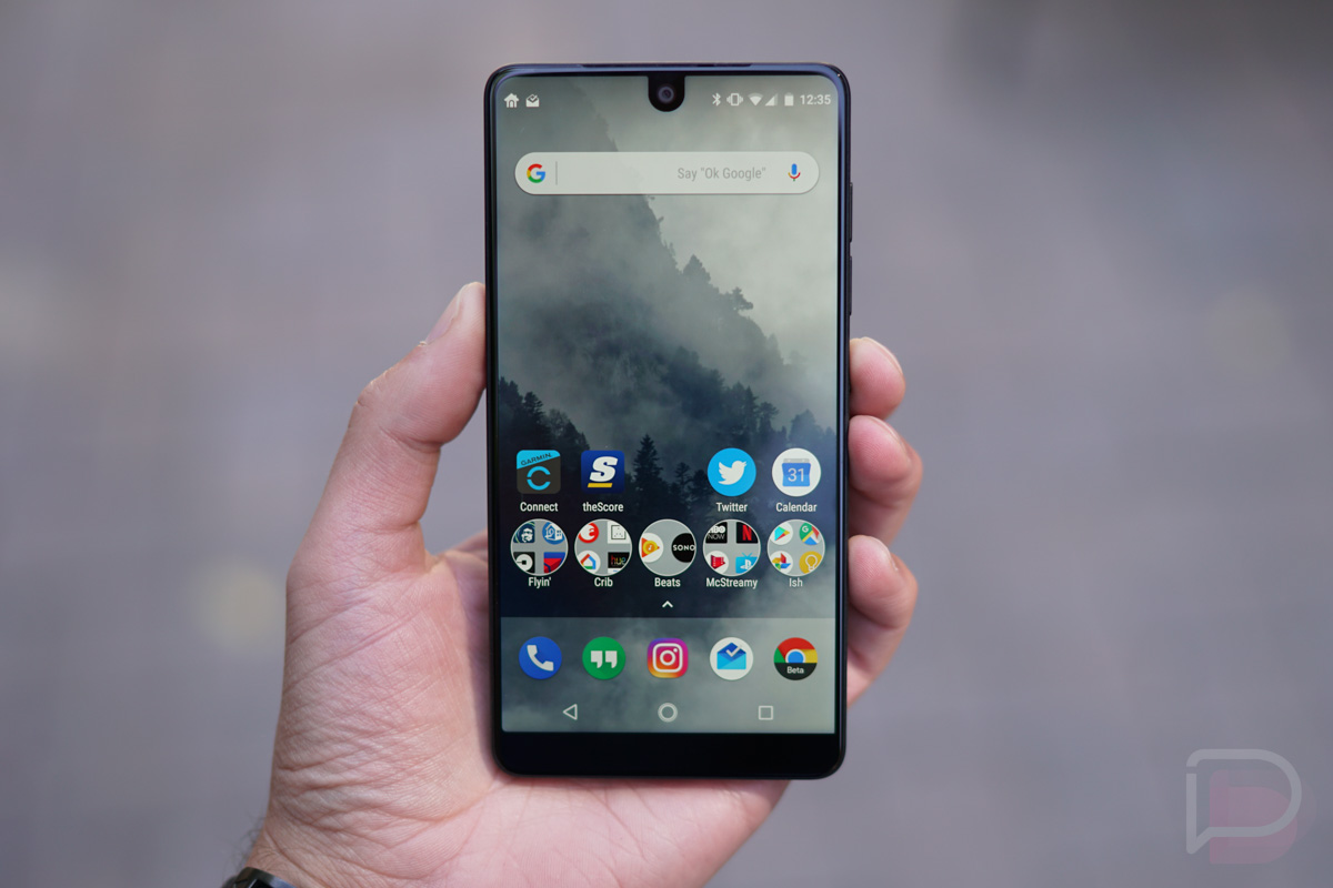 Essential Phone: 24 Hours Later, Some Initial Thoughts ...